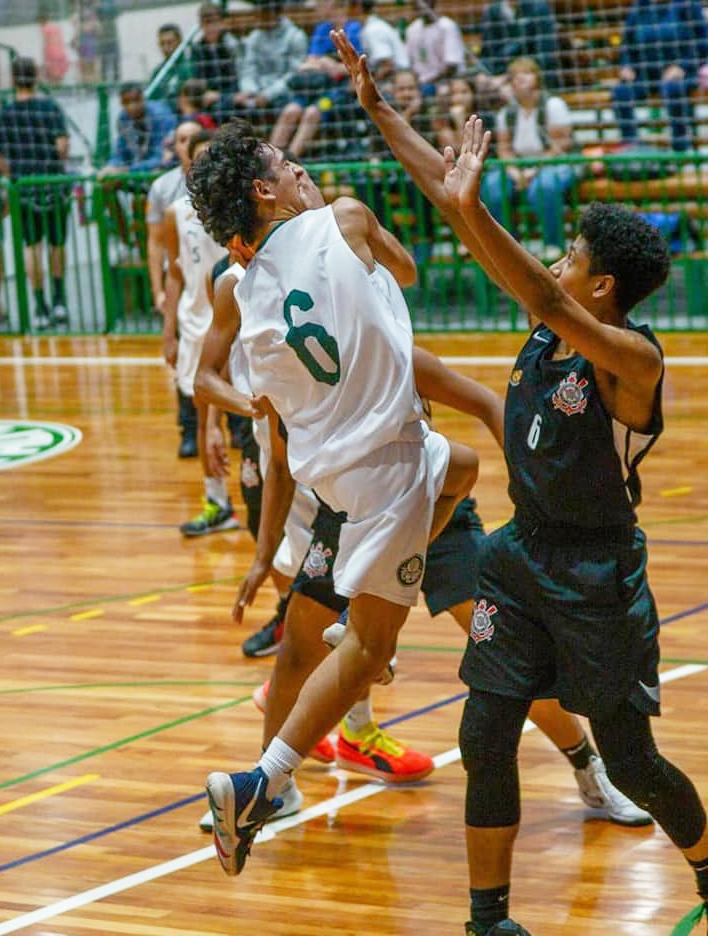 Michael Oliveira/Federados Basketball _ Caldeira foi o nome do jogo contra o Corinthians no Sub-15