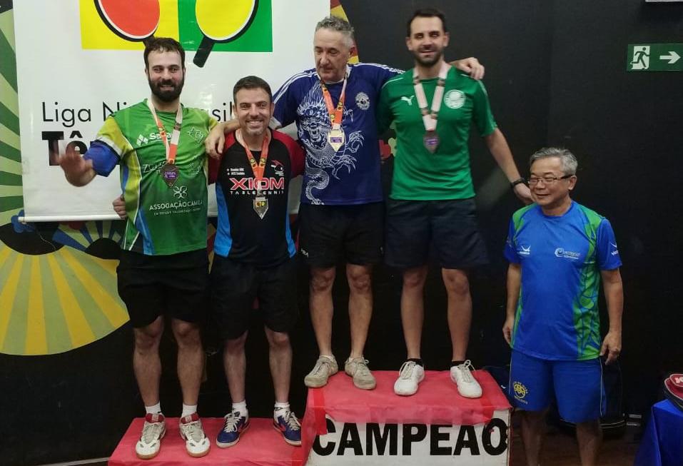 Divulgação _ César obteve a medalha de bronze na competição