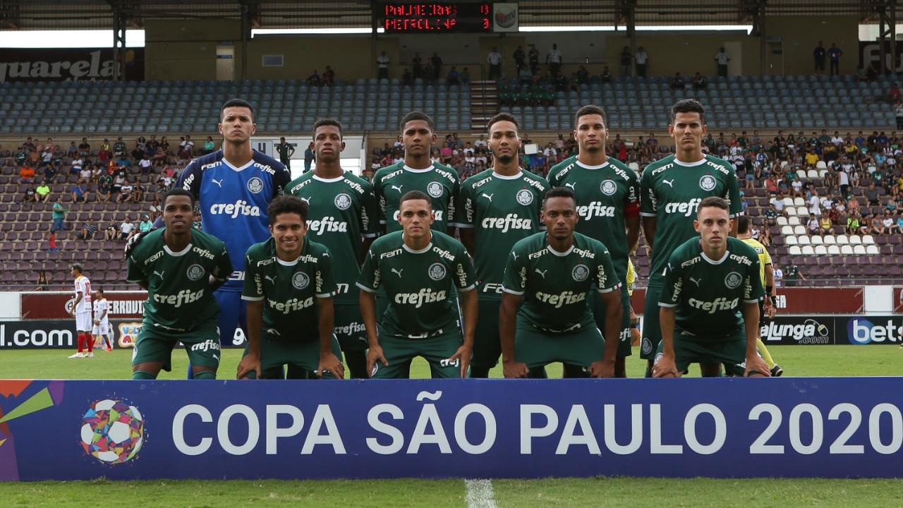 Fabio Menotti/Ag. Palmeiras/Divulgação_O time de Wesley Carvalho está classificado para a segunda fase da Copa São Paulo
