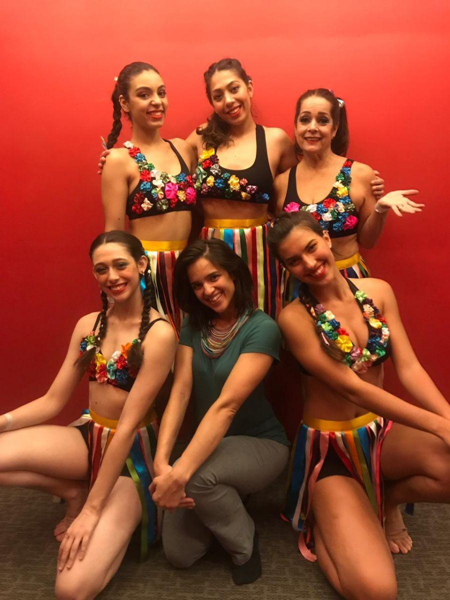 Divulgação_As alunas do Verdão fizeram bonito no Encontro Nacional de Dança