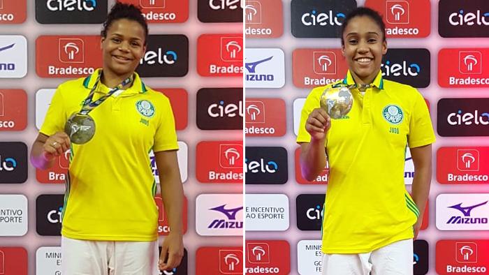 Divulgação _ Ellen e Ketelyn estão entre as principais atletas Júnior do mundo