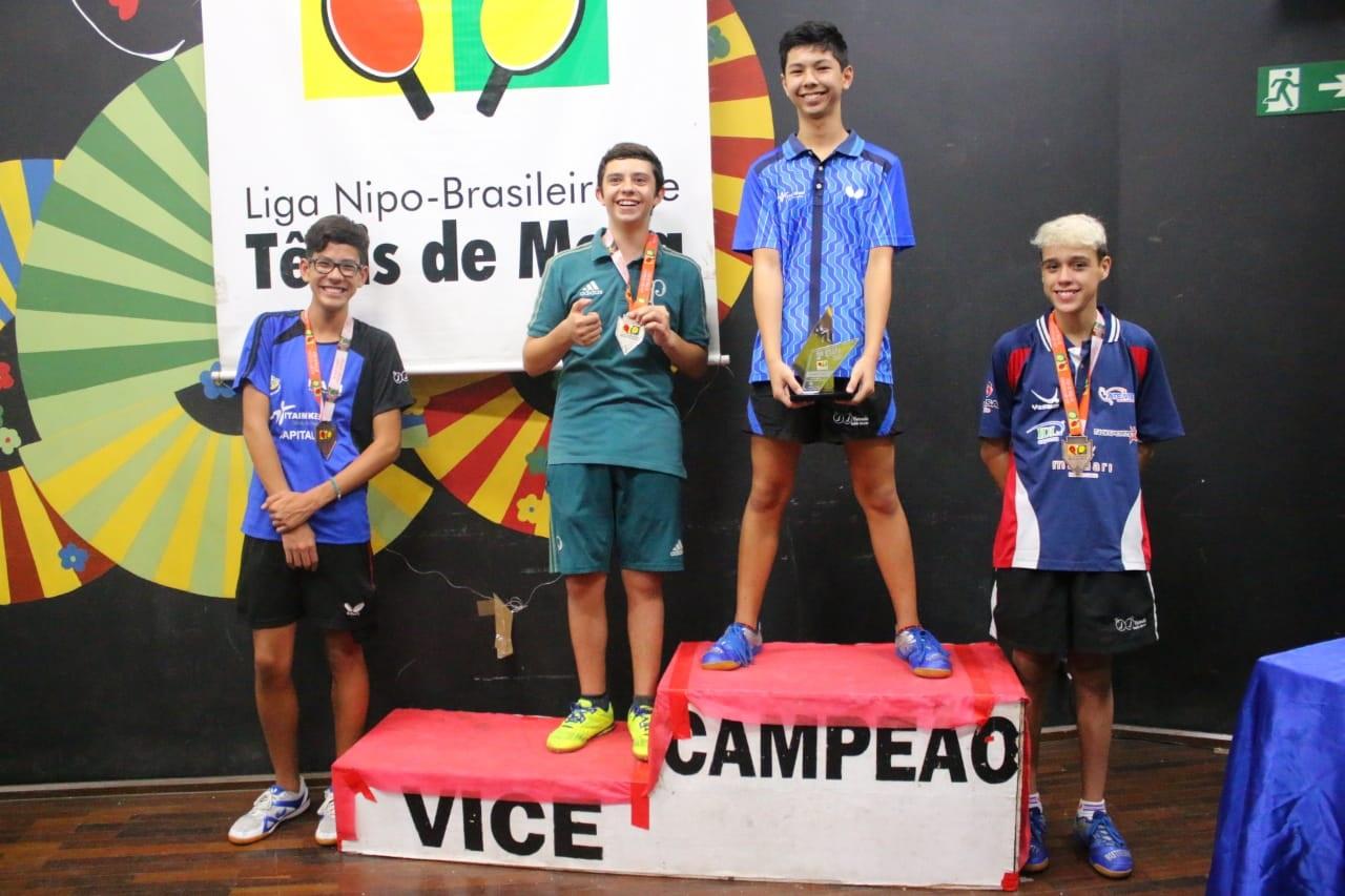 Divulgação _ Diego foi vice-campeão de sua categoria