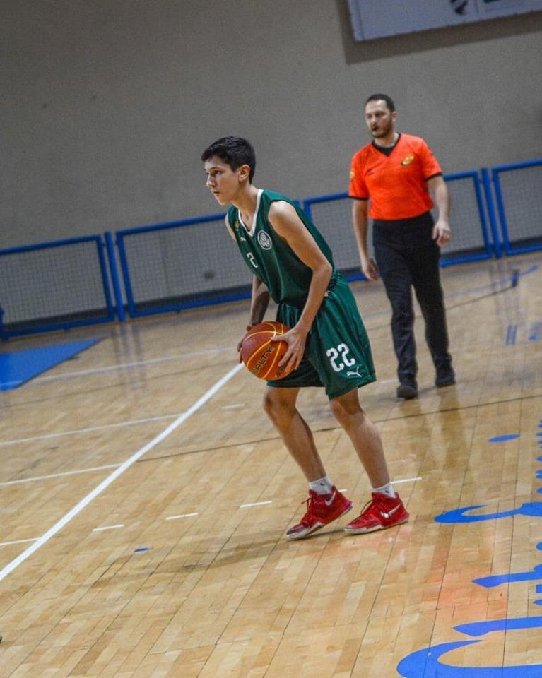 Michael Oliveira/Federados Basketball _ Diogo Degan, do Sub-14 alviverde, marcou 25 pontos contra o Inter