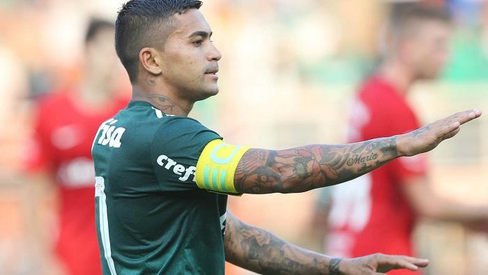 Cesar Greco/Ag Palmeiras/Divulgação_Dudu é o maior artilheiro palmeirense do Brasileirão na era dos pontos corridos, agora com 26 gols