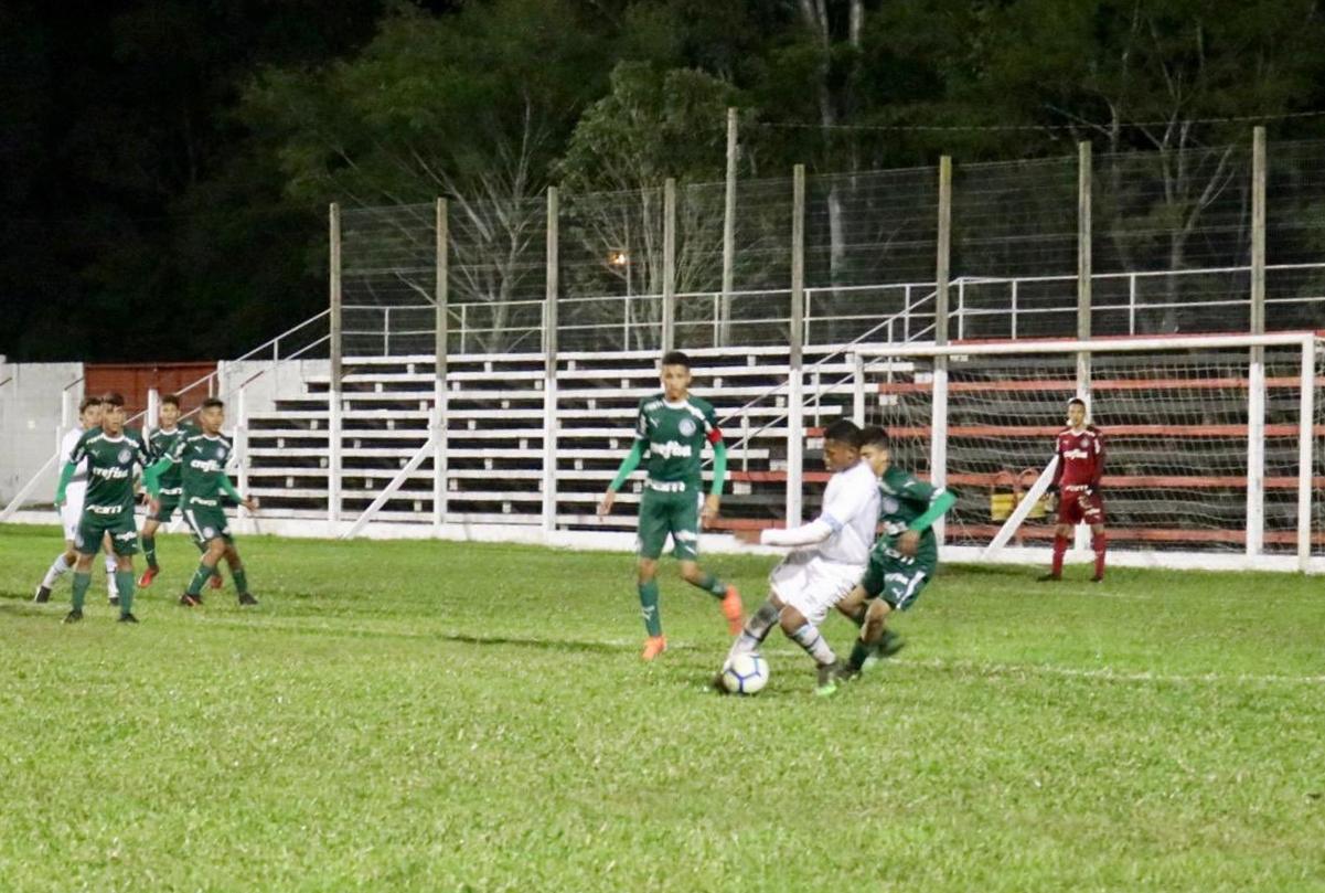 Divulgação_O Sub-14 do Palmeiras venceu quatro jogos e empatou um na primeira fase do EFIPAN