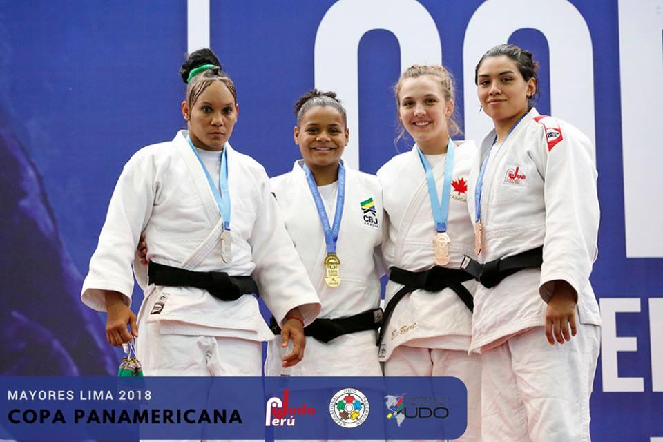 Judo Perú _ Ellen conquistou nesta temporada a Copa Pan-Americana, um dos primeiros títulos adultos da carreira