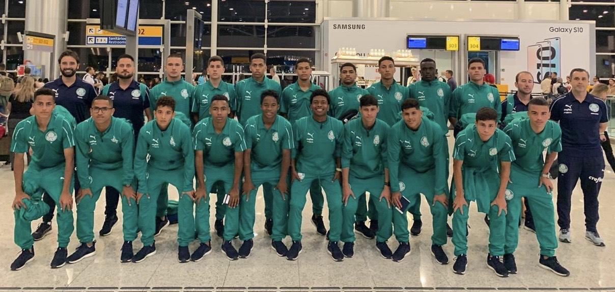 Divulgação_Com goleada sobre o Tottenham, o Sub-15 do Palmeiras terminou o torneio na 5ª colocação