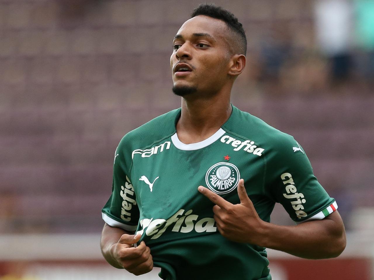 Fabio Menotti/Ag. Palmeiras/Divulgação_Fabrício é o artilheiro do Palmeiras na Copinha, com dois gols