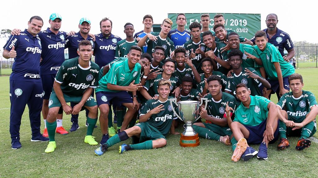 Fabio Menotti/Palmeiras _ A categoria Sub-16 do Verdão é a atual bicampeã da Série Prata da FAM Cup