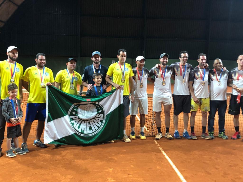 Divulgação _ A equipe palestrina fez jogo disputado contra o adversário
