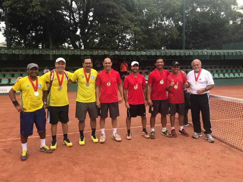 Divulgação _ Os tenistas do Verdão chegaram ao pódio pela segunda vez no mês de novembro
