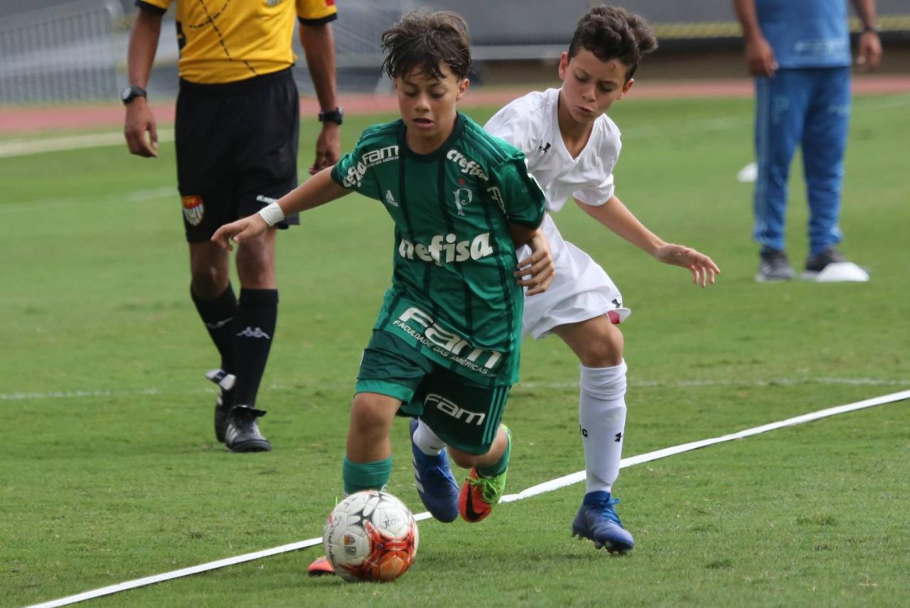 Afonso Pastore/saopaulofc.net _ O Sub-11 palestrino tem a melhor campanha da categoria no Paulista