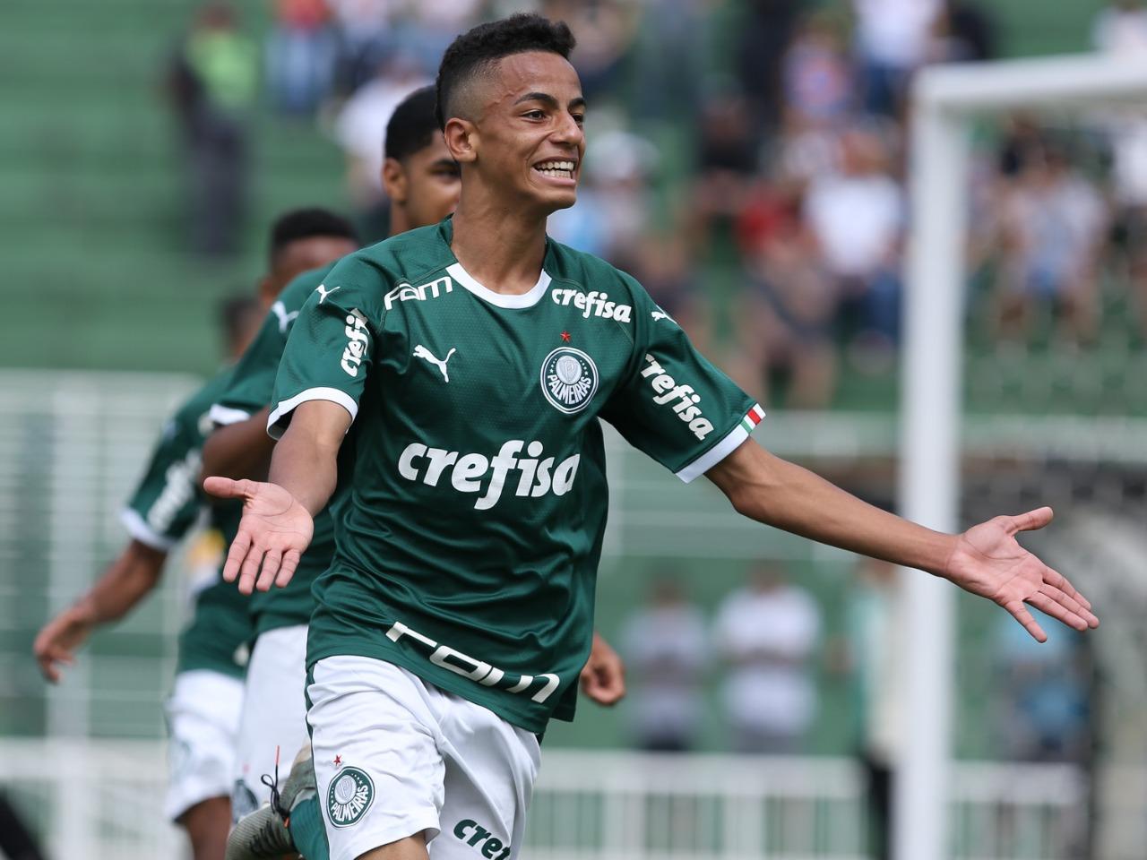 Fabio Menotti/Ag. Palmeiras/Divulgação_Giovani foi o artilheiro do time na competição, com 15 gols