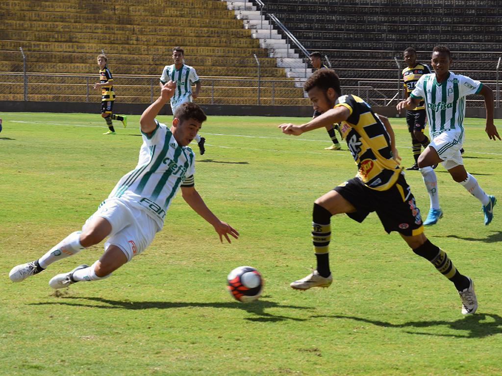 Thomaz Jannuzzi/Grêmio Novorizontino_Na última rodada, o Sub-17 do Palmeiras venceu o Grêmio Novorizontino por 2 a 1