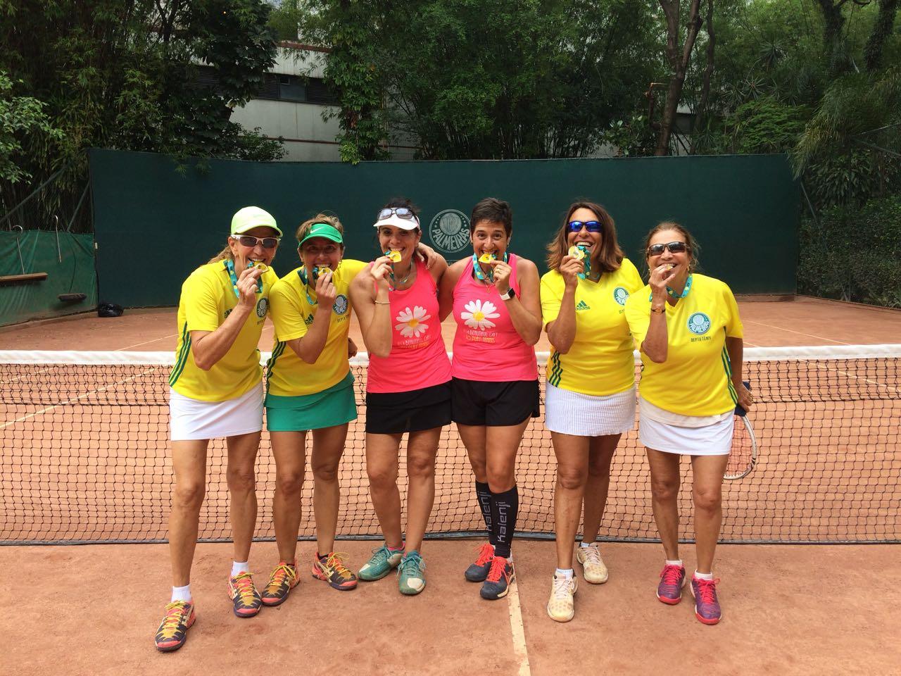 Divulgação_Duas duplas do Verdão conquistaram medalhas no torneio Novo Tênis Feminino (NTF)