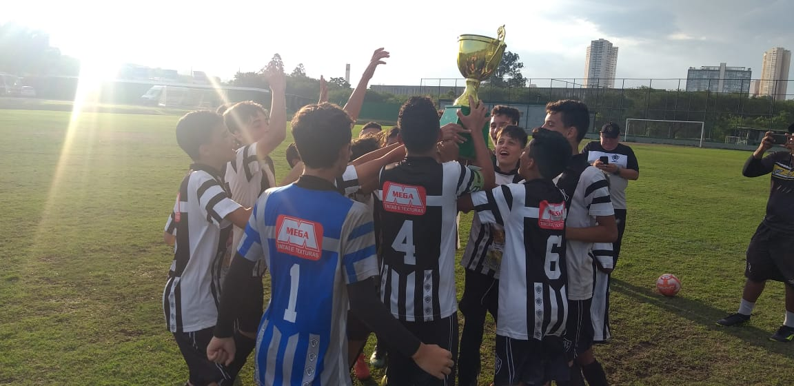 Divulgação_O Rio Branco foi o campeão na categoria Sub-12