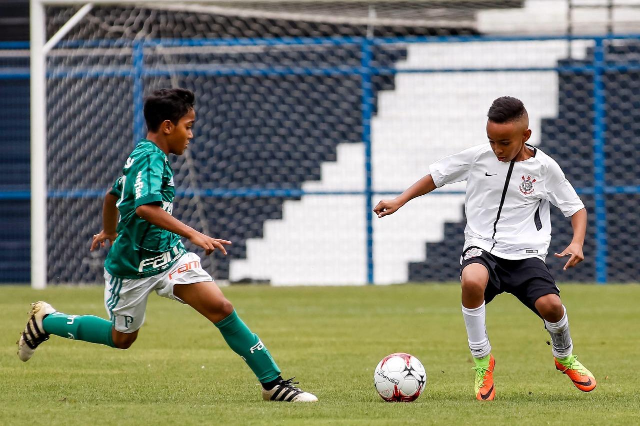 Rodrigo Gazzanel/Agência Corinthians_O Sub-11 palmeirense empatou fora de casa com o Corinthians