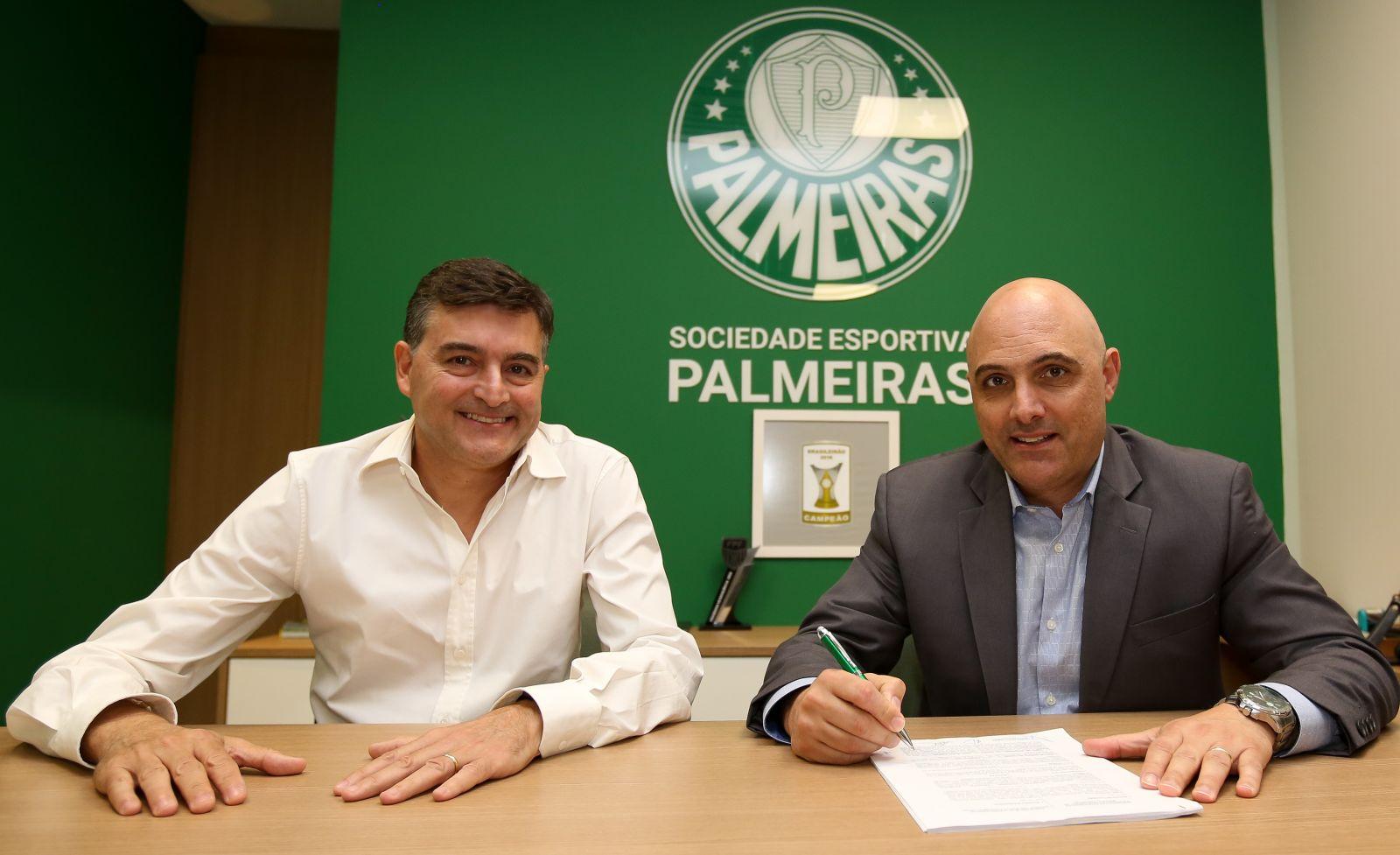 Fabio Menotti/Ag. Palmeiras/Divulgação_Palmeiras e PUMA fecharam contrato por três anos