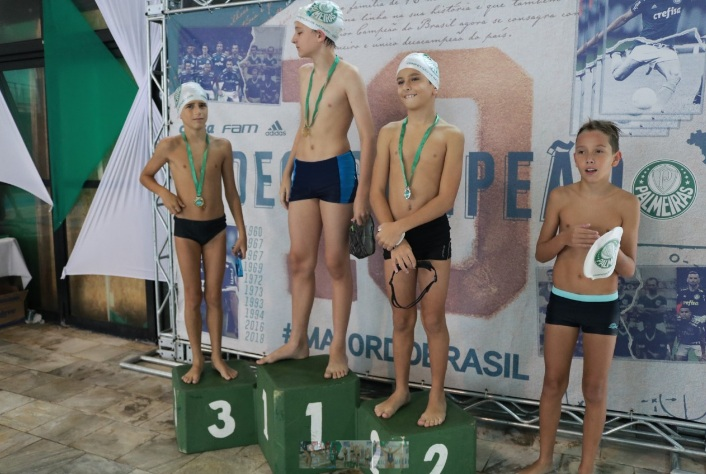 Marylha Maieru/Ag Palmeiras/Divulgação_Competição ocorre neste domingo (07), no Parque Aquático do clube social do Verdão