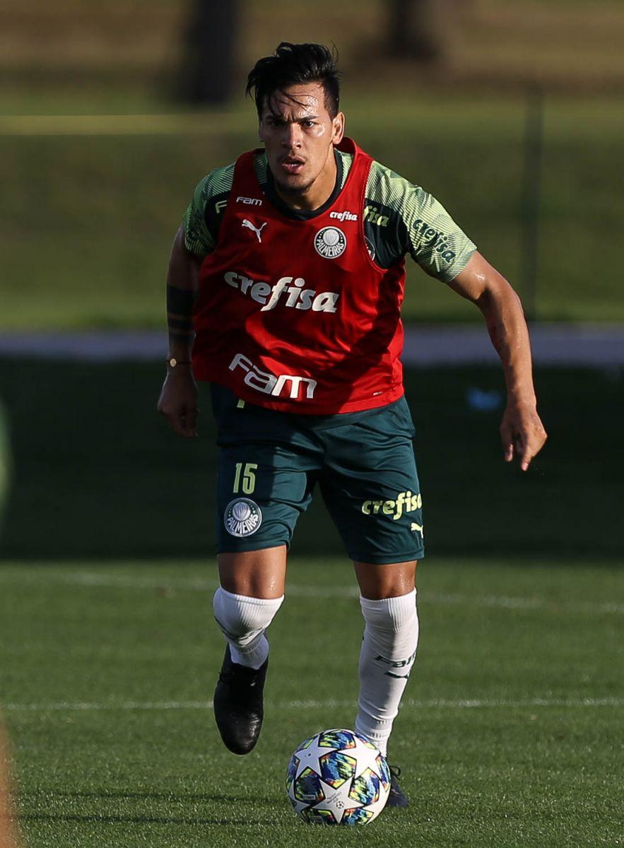 Cesar Greco/Ag Palmeiras/Divulgação_G. Gómez falou com a imprensa em Orlando