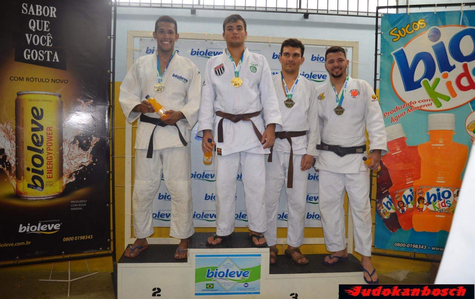Judokanbosch/Divulgação _ José Guilherme Iasbech foi um dos atletas palmeirenses a faturar o ouro