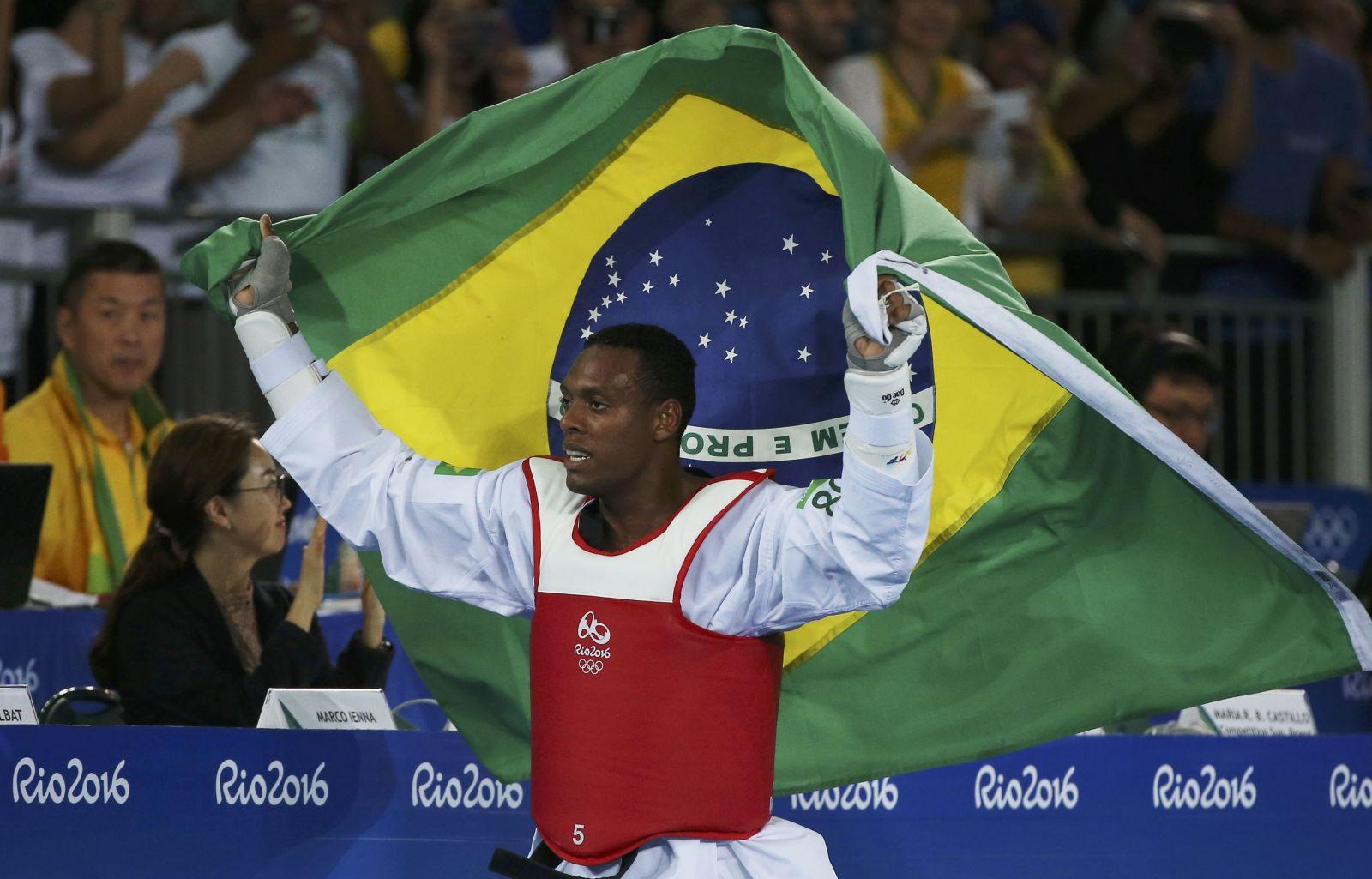 Agência Brasil_Maicon Siqueira conquistou a 1ª medalha da história do Brasil no taekwondo masculino em Olimpíadas