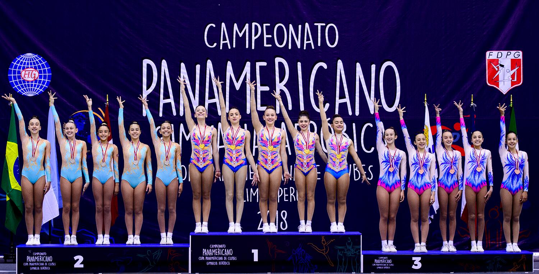 Ivan Carvalho/Reprodução_As meninas desbancaram ginastas do Peru e da Argentina ao longo da competição pan-americana