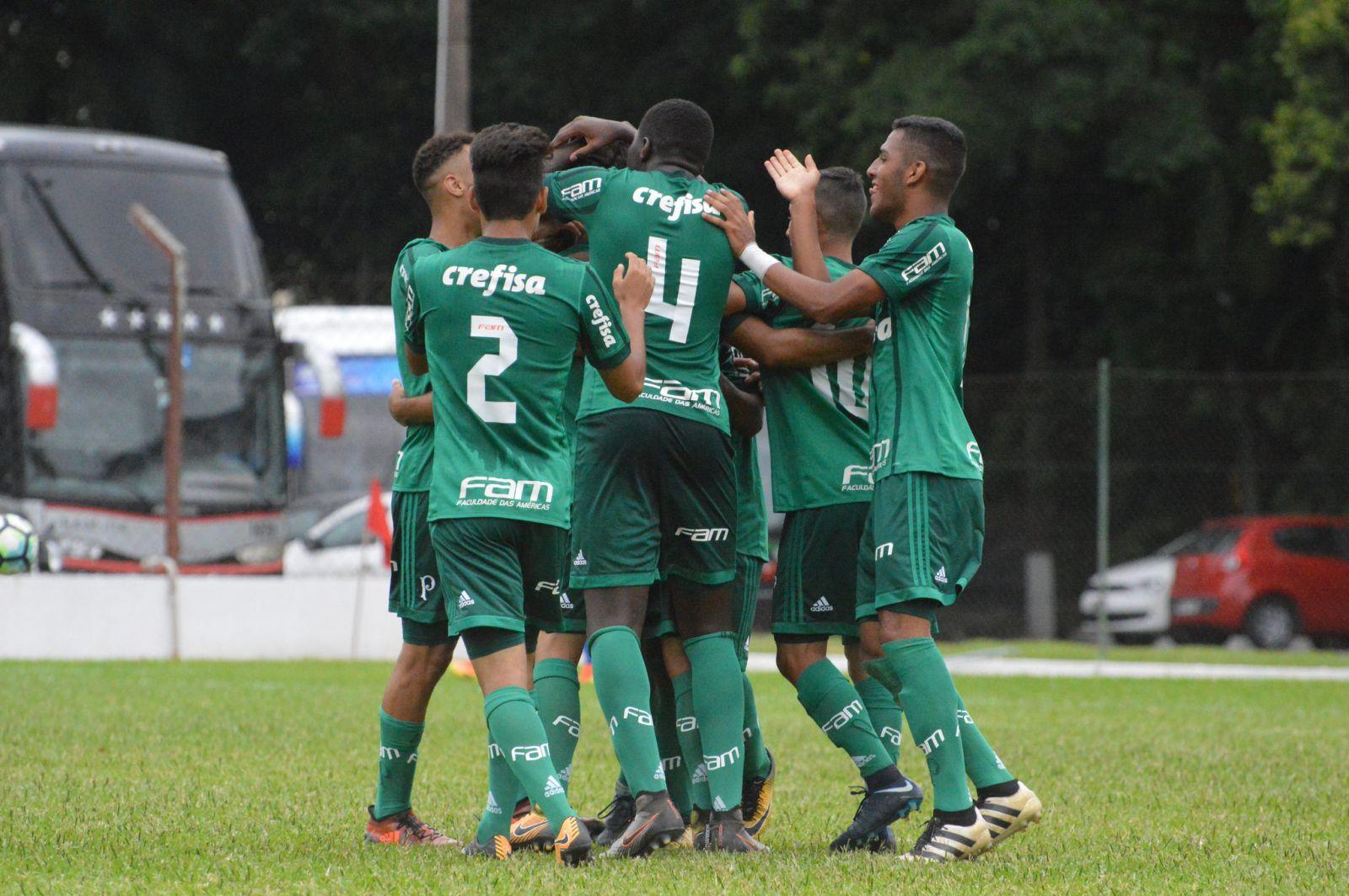 Sidnei Batista _ O Palmeiras está com 100% de aproveitamento na competição