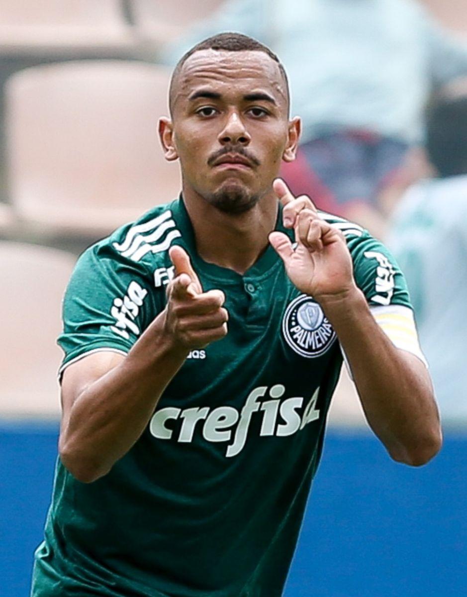Fabio Menotti/Ag. Palmeiras/Divulgação_Papagaio foi o artilheiro do Palmeiras no torneio, com 12 gols