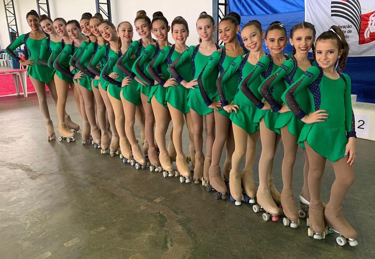 Divulgação _ O pódio recebeu as cores verde e branco 17 vezes na competição