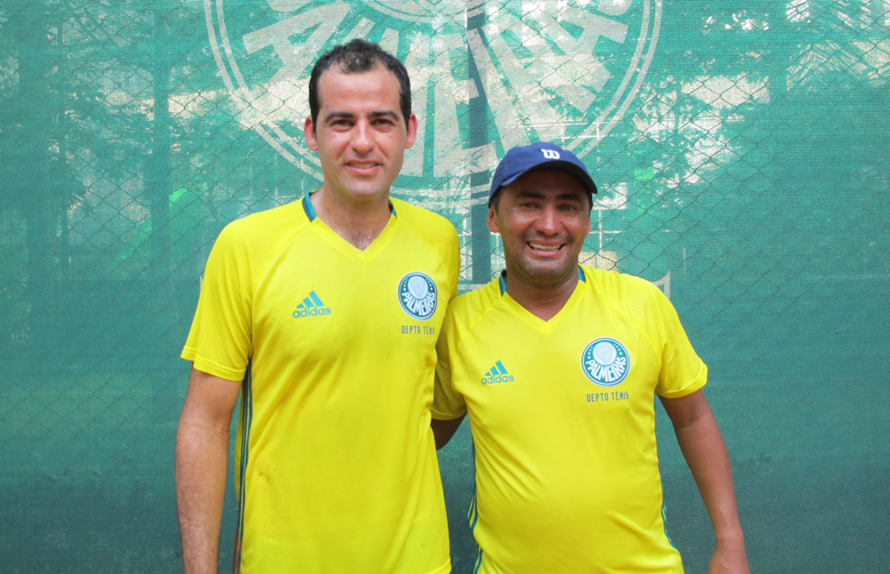 Priscila Pedroso/Divulgação _ Robson Queiroz (esq.) e José Cícero Ananias (dir.) defenderam o Verdão na primeira final