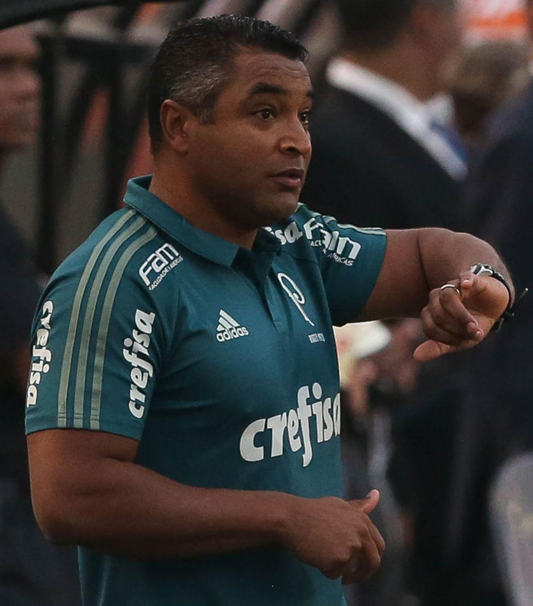 Cesar Greco/Ag Palmeiras/Divulgação_Roger analisou o desempenho do time