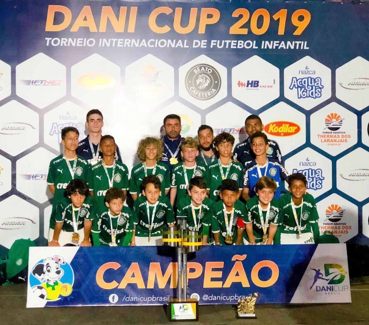 Divulgação_O Sub-11 do Verdão fez campanha impecável no torneio