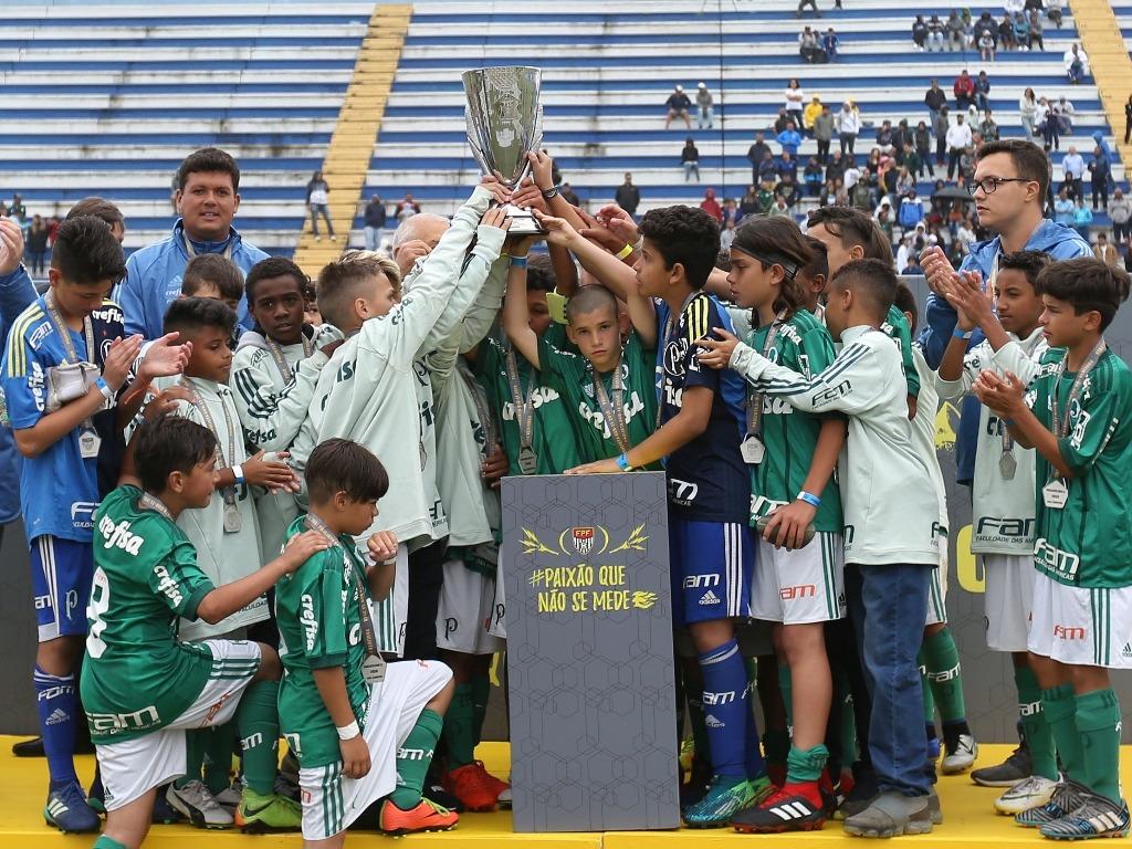 Fabio Menotti/Palmeiras _ O Sub-11 teve os melhores índices do torneio estadual e o artilheiro