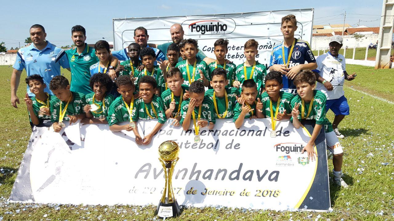 Divulgação _ Este foi o quarto troféu da base palmeirense em 2018