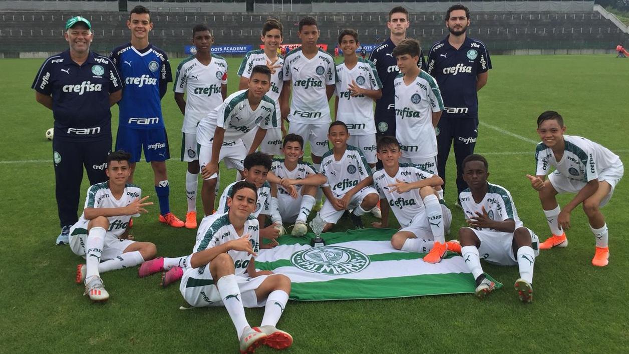 Divulgação_O Sub-13 lidera o grupo com 22 pontos, (7v e 1e); o Sub-11 tem 6 vitórias, um empate e uma derrota