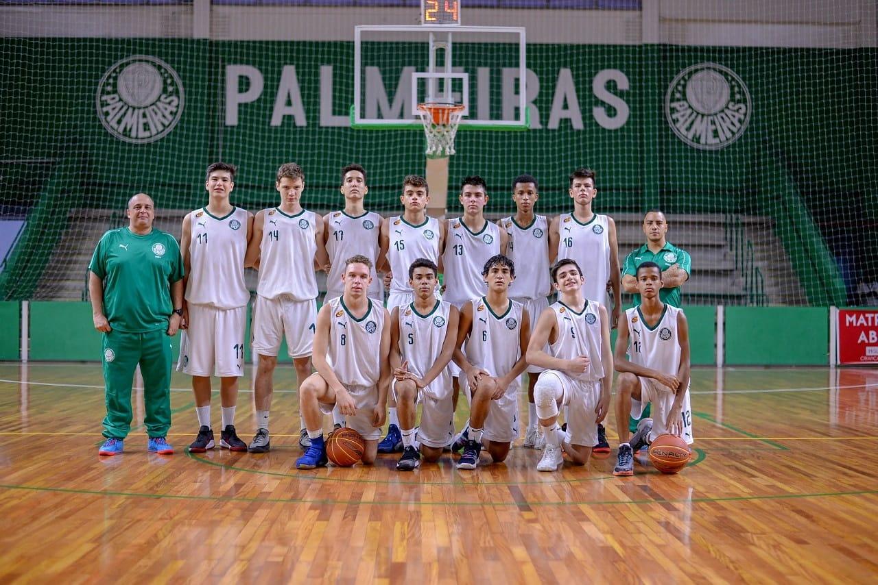 Michael Oliveira/Federados Basketball _ O Sub-15 alviverde suou a camisa para derrotar o São José