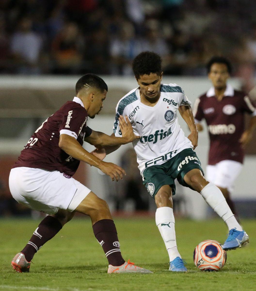 Fabio Menotti/Ag. Palmeiras/Divulgação_O Palmeiras terminou a primeira fase na vice-liderança do Grupo 17