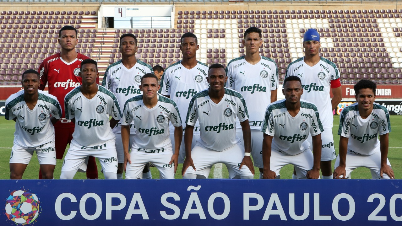 Fabio Menotti/Ag. Palmeiras/Divulgação_O Sub-20 do Palmeiras foi superado pelo Goiás na Copinha