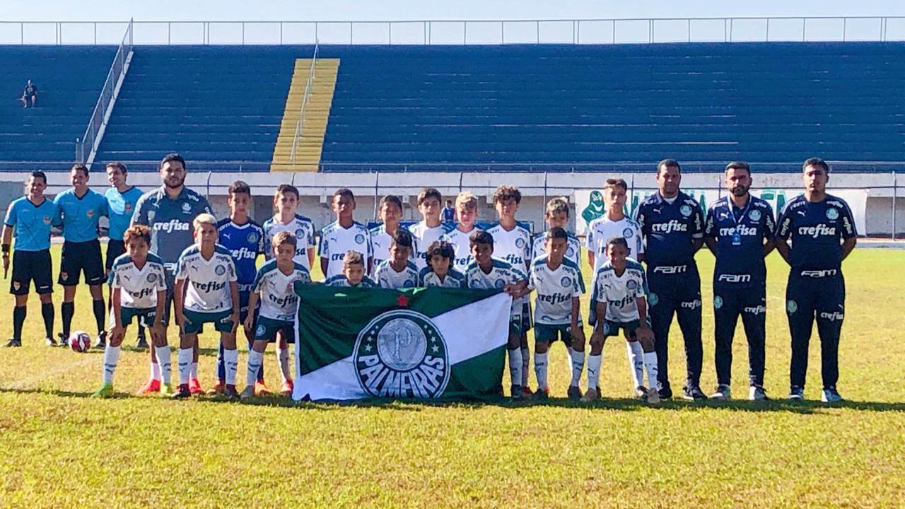 Divulgação_O Sub-11 do Palmeiras terminou a competição com seis vitórias, uma derrota, 14 gols pró e apenas um sofrido