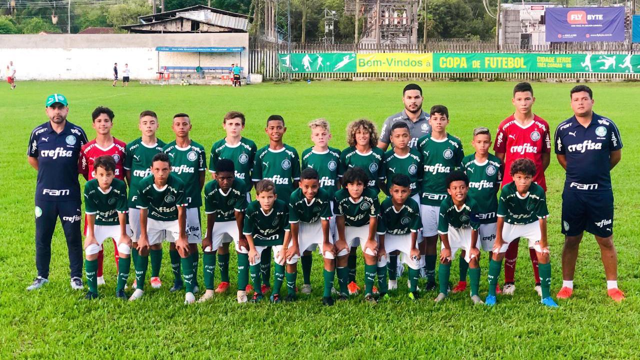 Divulgação _ A equipe palmeirense é formada por atletas nascidos em 2008