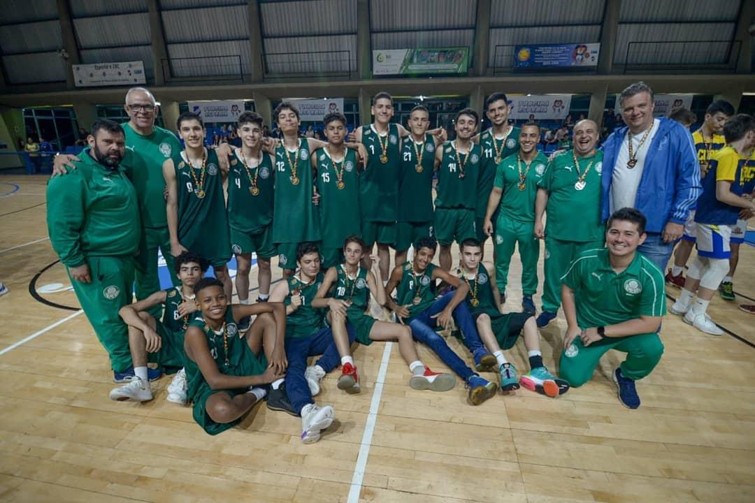 Michael Oliveira/Federados Basketball _ O Sub-14 do Verdão venceu SESI/Franca e Rio Claro antes da final contra o Esperia