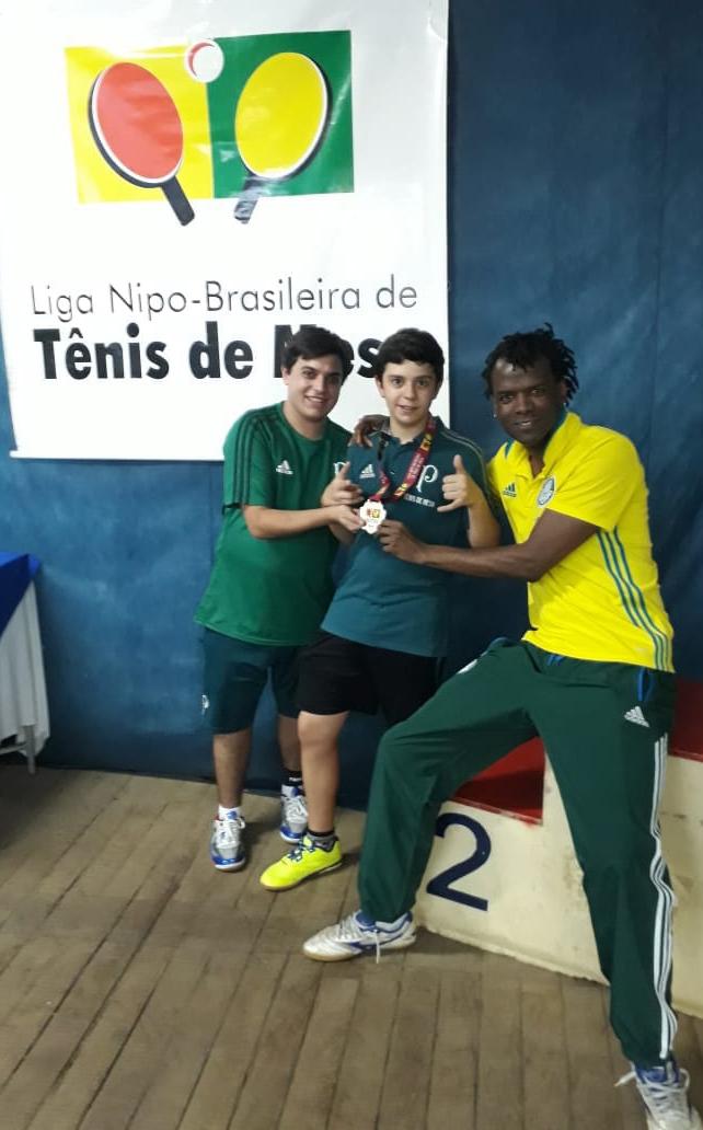Divulgação _ O palestrino tem duas medalhas na edição de 2018 da competição
