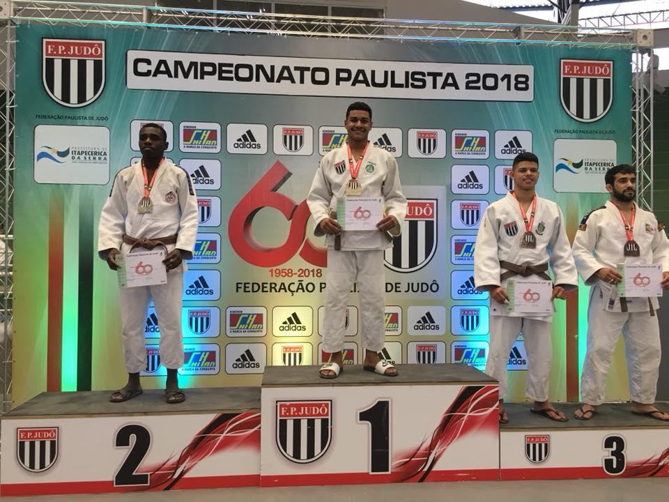 Divulgação _ Victor Hugo Nascimento foi um dos palmeirenses campeões do torneio de faixas