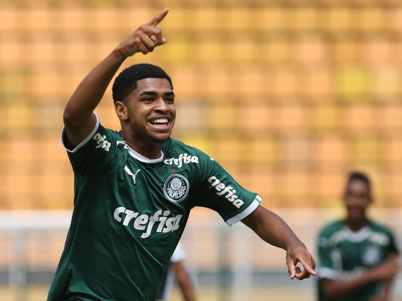 Fabio Menotti/Ag. Palmeiras/Divulgação_Wendell marcou duas vezes na goleada