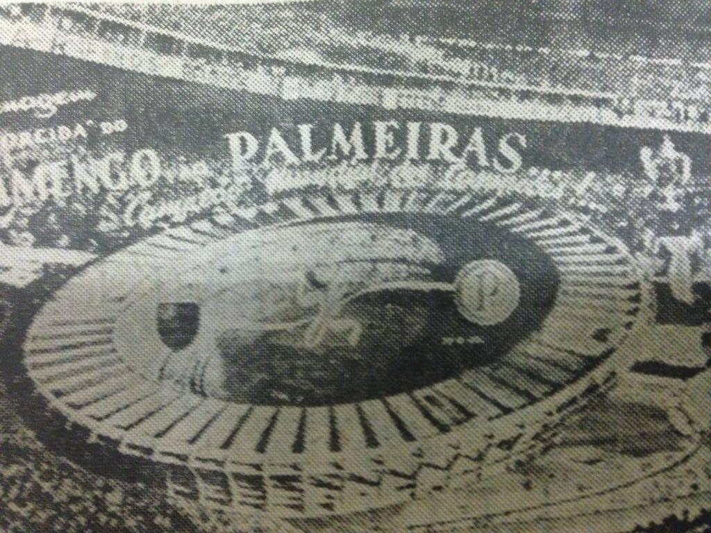 Flamengo sauda Palmeiras em 1951