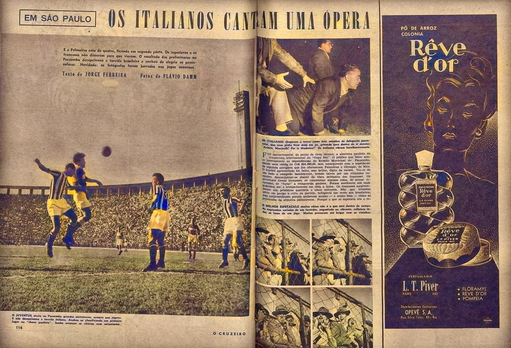Página da revista O Cruzeiro