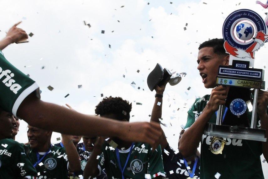 O Verdão venceu também o torneio em 2018 (Foto: Ieda Beltrão/Rádio Santiago)