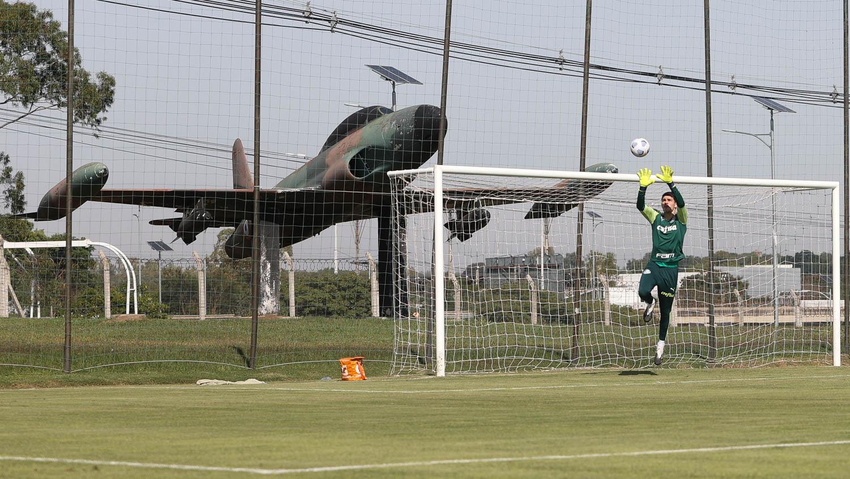 Palmeiras conclui preparação no Paraguai para duelo com Juventude; veja provável escalação