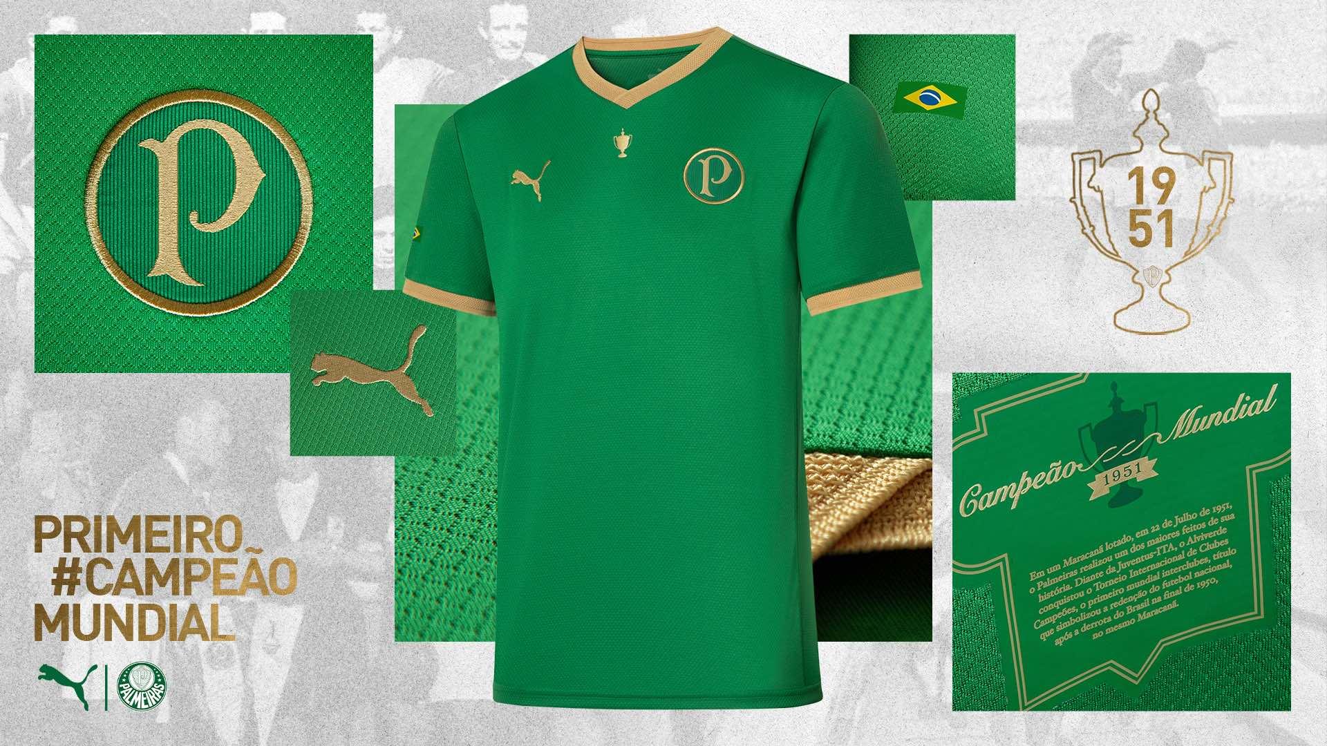 Camisa especial em referência ao uniforme da época lançada em 2021